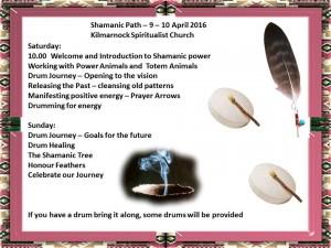Kilmarnock Church Shamanic Path 2016