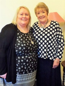 Gayle and Maureen